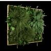 Mechový obraz (s reproduktory) Džungle 80x76