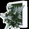 Rostlinný obraz s designem Džungle 22x22