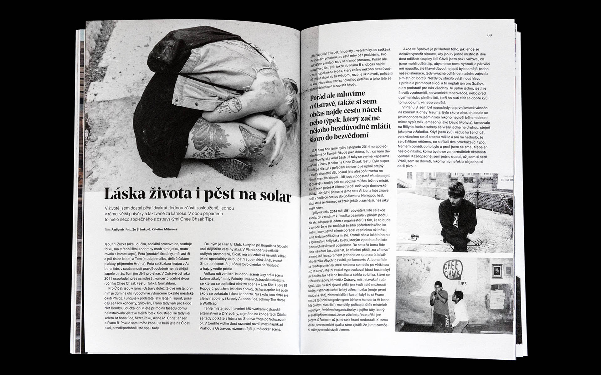 Crook / Křivák Magazine